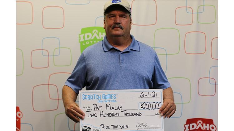 Idaho man wins 2nd big prize on lottery scratch game