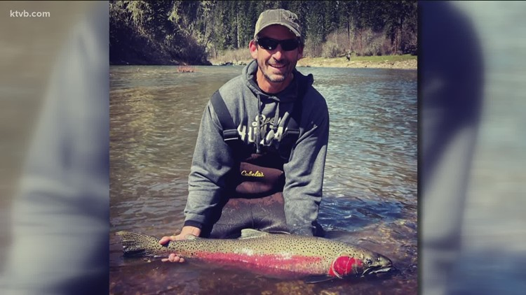 Boise man catches record-long steelhead from the South Fork