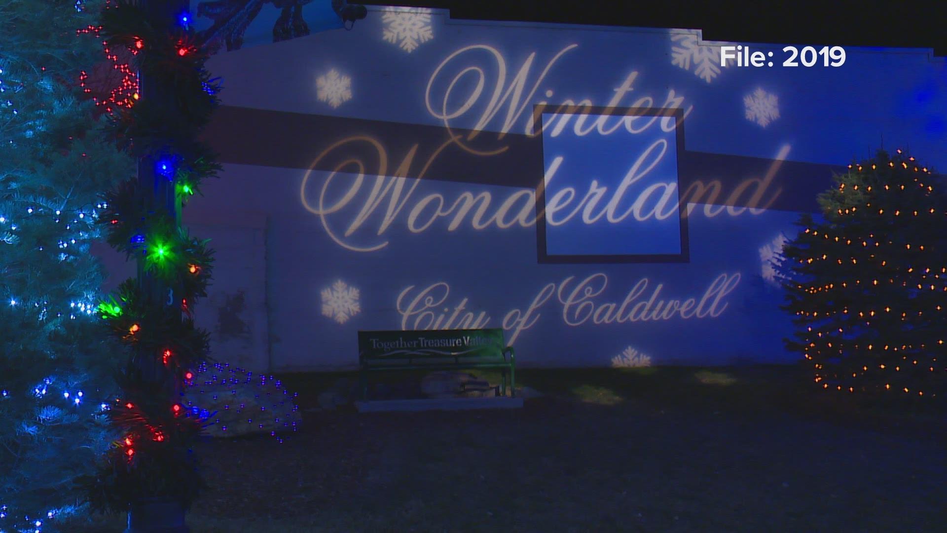 Over A Million Lights Will Illuminate Downtown Caldwell During Winter Wonderland Festival Ktvb Com