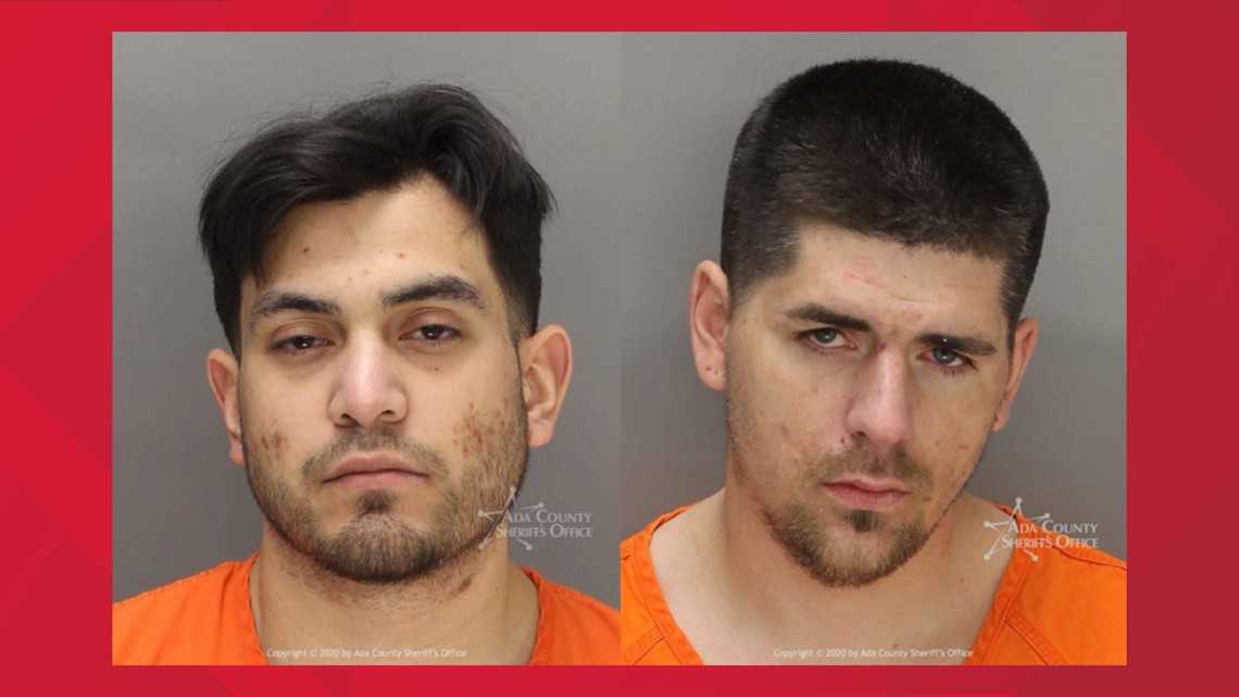 Two men jailed on drug trafficking charges in Boise
