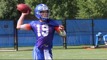 Freshman Hank Bachmeier named the starting quarterback for Boise State