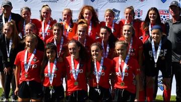 Boise Thorns U15G headed to National Soccer Championships in Kansas City