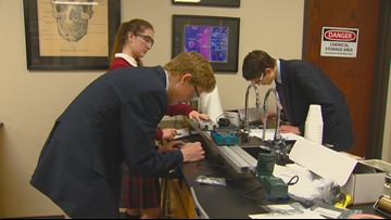 Innovative Educator: Teacher in Meridian gives students 'crash course' in physics