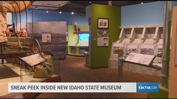 Viewpoint: Sneak peak inside new Idaho State Museum