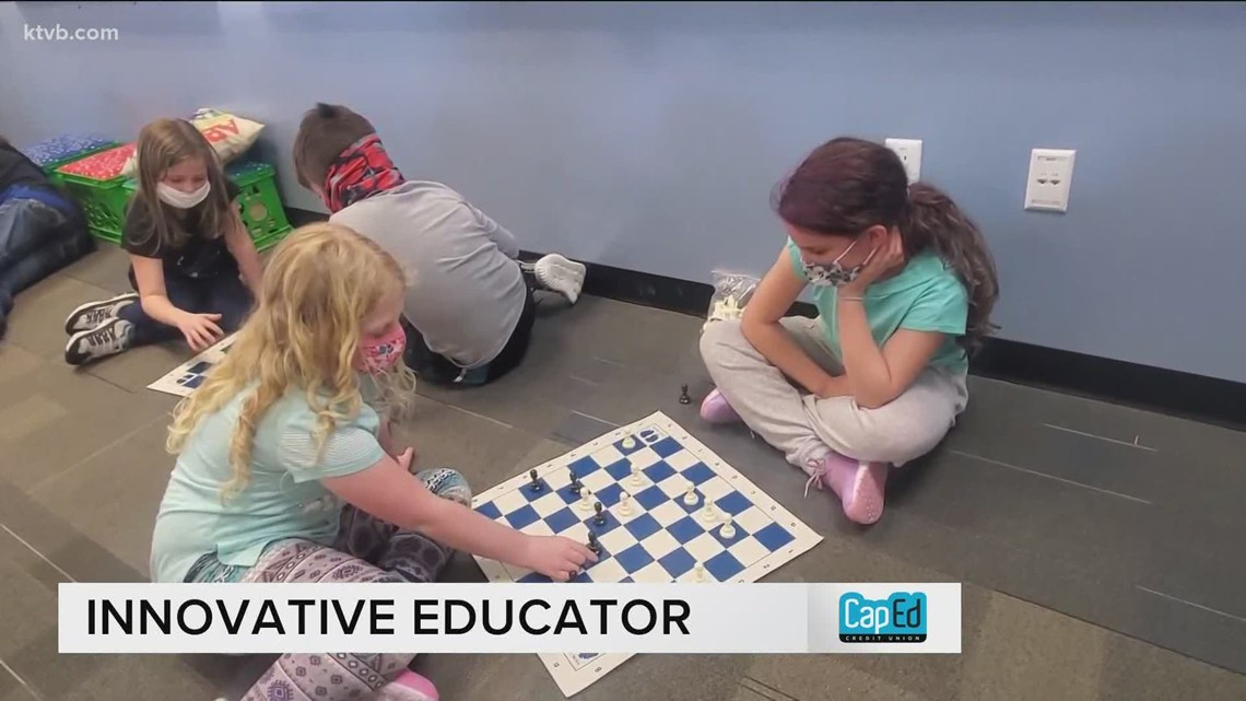 Bringing chess into the classroom: 'It's not just playing a game'