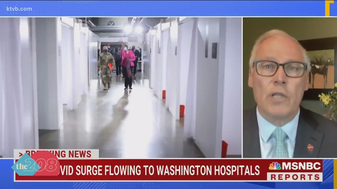 Washington governor says Idaho leaders are endangering people