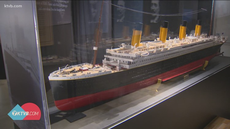 Titanic exhibit comes to the Discovery Center in Boise