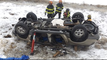 Caldwell man dies in rollover wreck on I-84