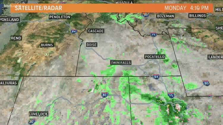 Major weather pattern change brings rainy, windy weather for next weekend to Idaho
