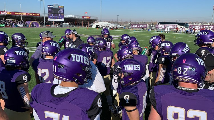 No. 5 Yotes roll Ottawa 70-23 in first-ever home playoff game