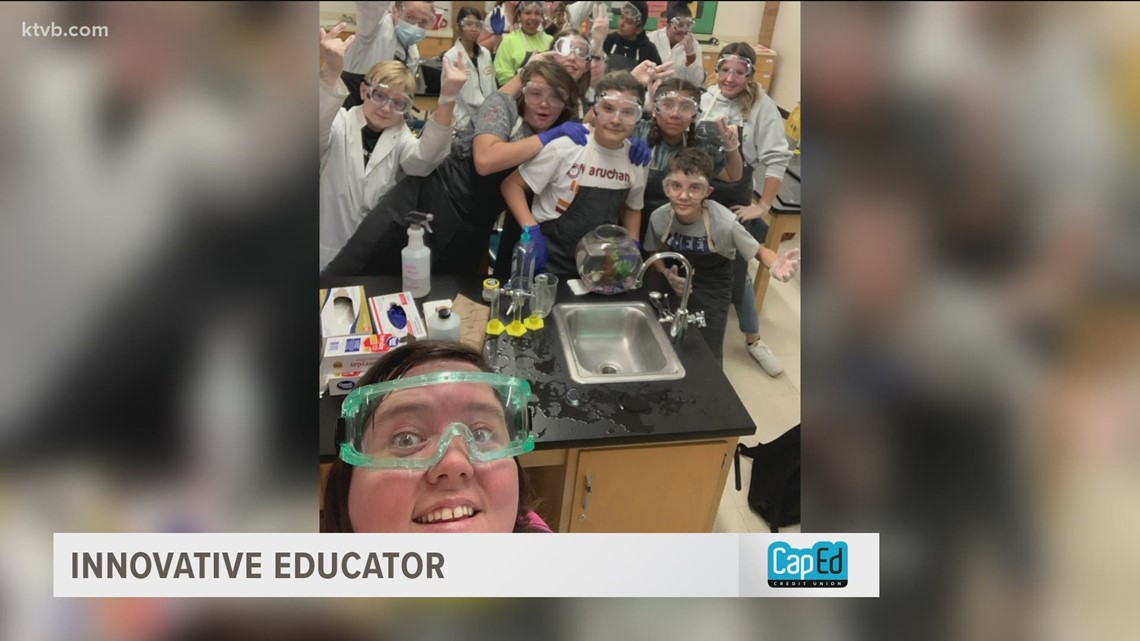 Burley teacher encourages students to see themselves as scientists