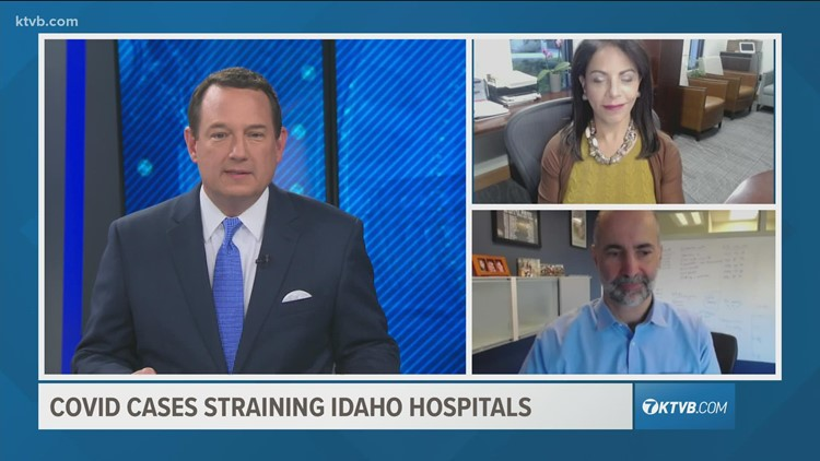 Viewpoint: Crush of COVID-19 patients puts enormous strain on Idaho hospitals