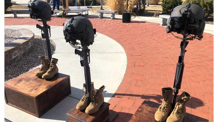 Memorial held for Idaho National Guard pilots killed in crash