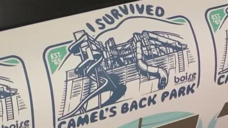Boise company starts making items for locals' nostalgia: 'I survived Camel's Back Park'