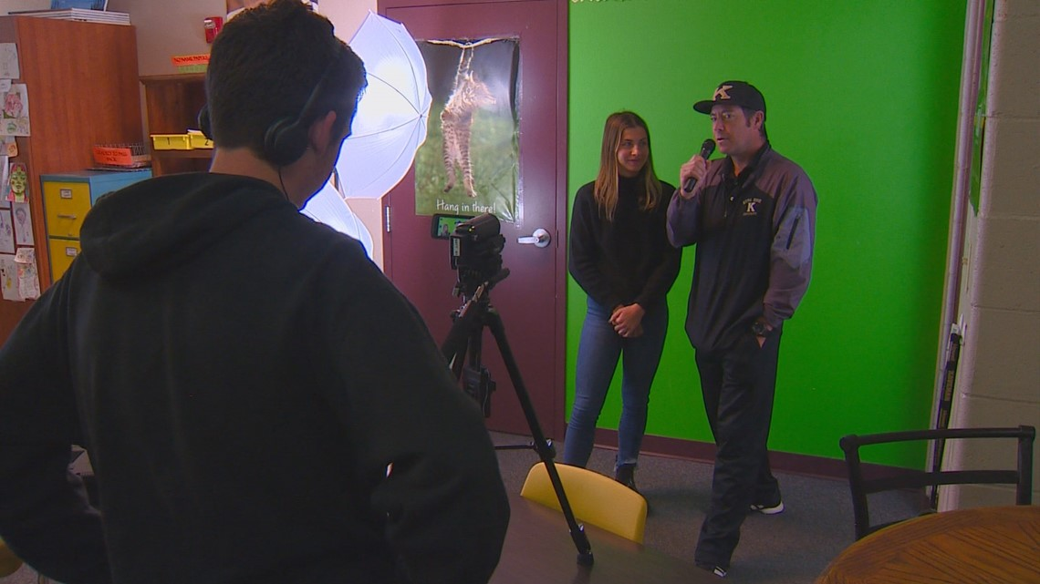 Innovative Educator: Kuna teacher leads students in Kaveman Productions