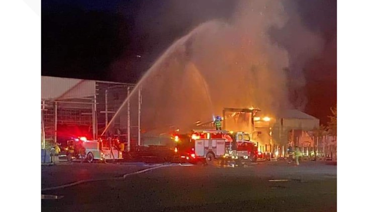 Fire breaks out at north-central Idaho lumber mill