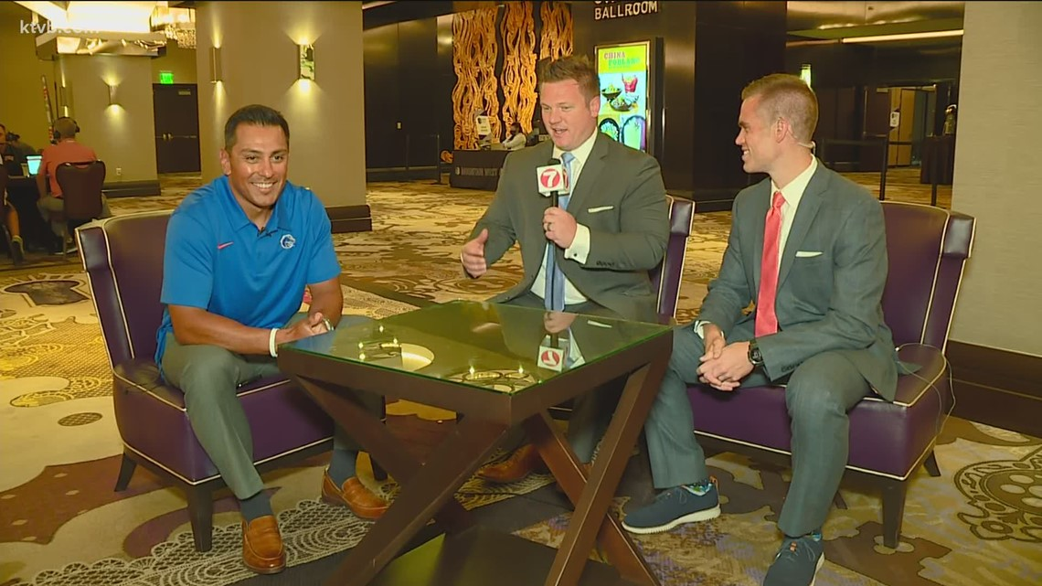 Andy Avalos talks Bronco football at Mountain West media days in Las Vegas