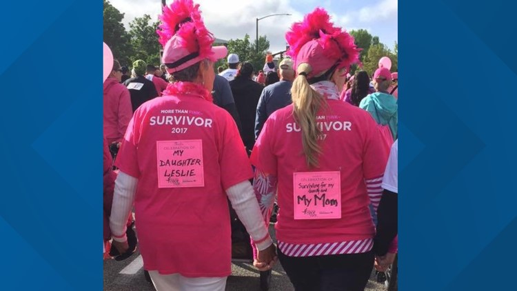 7's Hero: Idaho mother and daughter start breast cancer survivor walk after news that the Race for the Cure won't be held in Boise