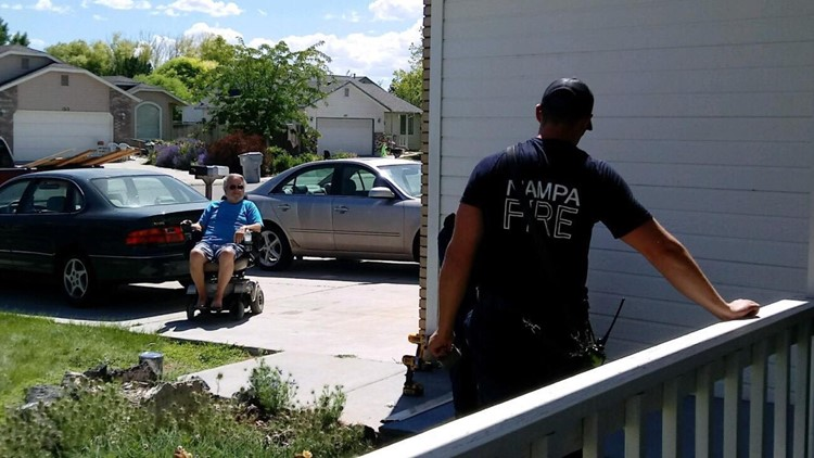 7's hero nampa veteran gets new wheelchair ramp thanks to firefighters
