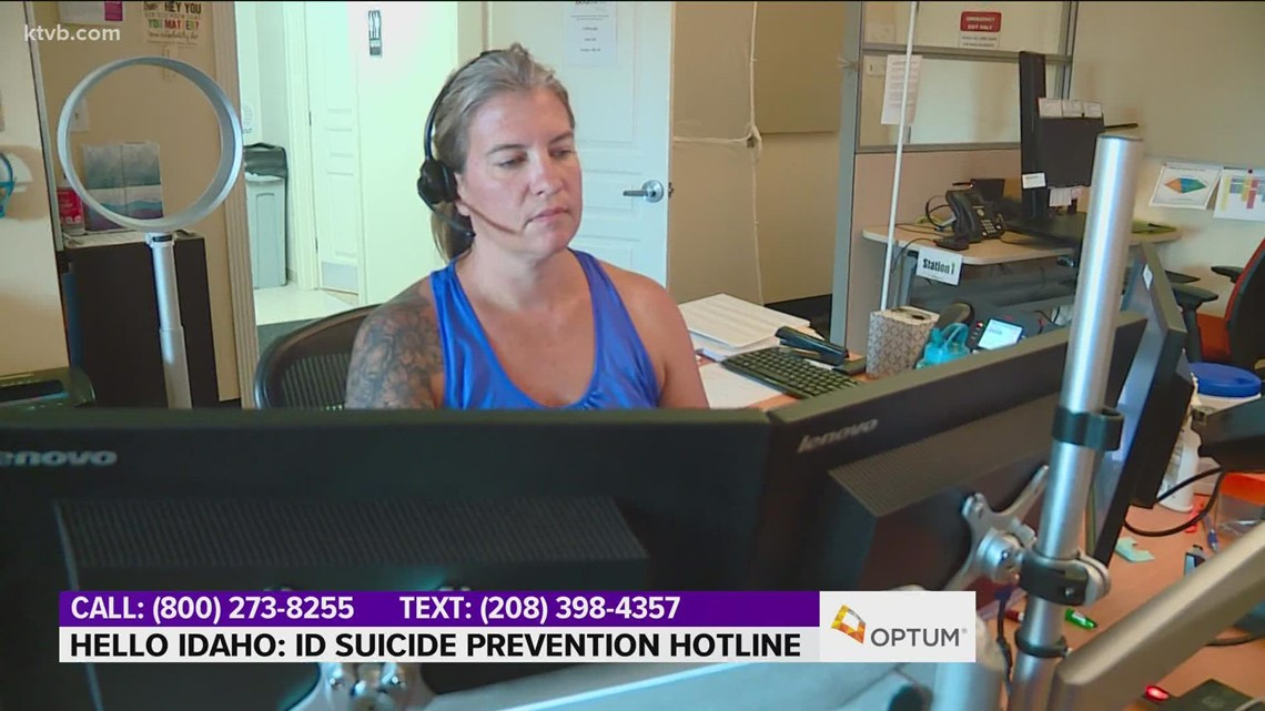 Hello Idaho: Idaho Suicide Hotline a lifeline for those in crisis