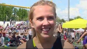 Mountain View's Lexy Halladay runs fastest 1600m time in the nation
