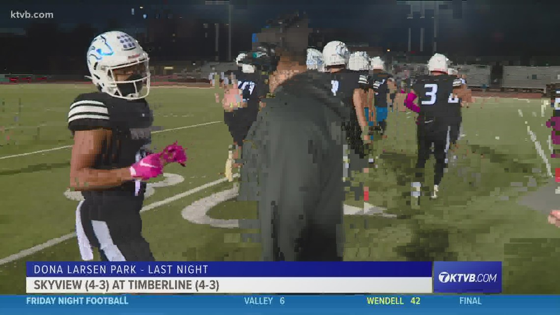 Thursday Night Football: Timberline and Skyview play on Thursday to end the season