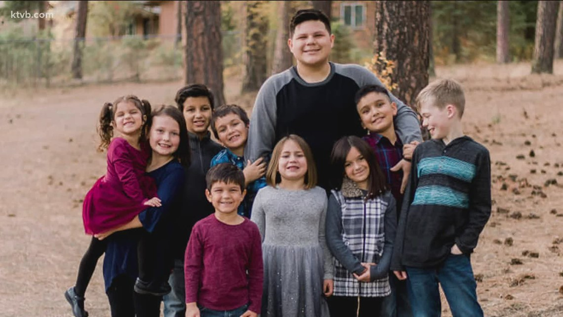 'I could not stop thinking about them': Six siblings adopted by Idaho family