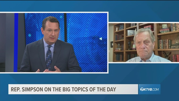 Viewpoint: Idaho Rep. Simpson discusses the big issues of the day