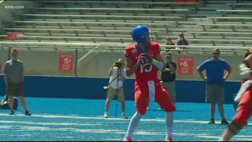 Freshman Hank Bachmeier named the next starting quarterback for Boise State