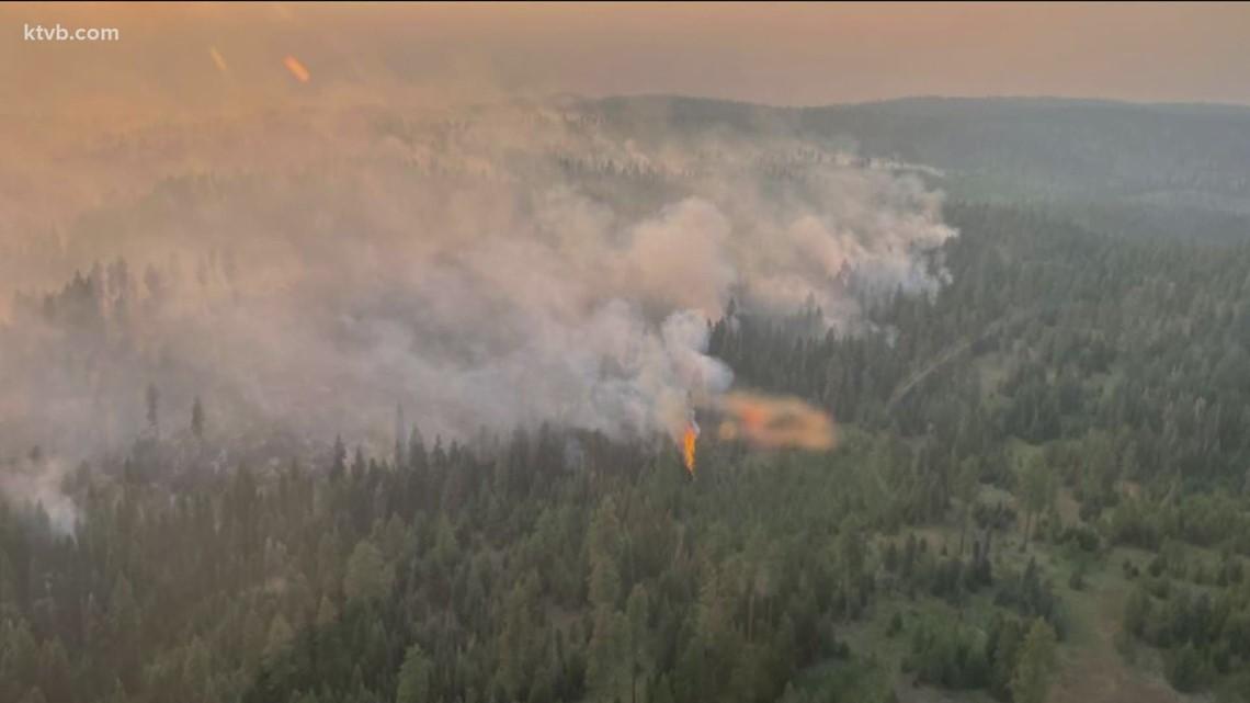 Wildfire updates from around the region