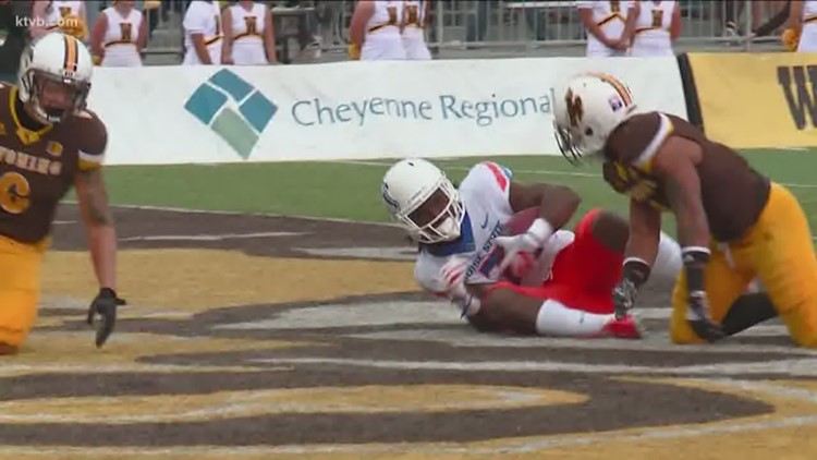 Boise State At Wyoming Football Highlights Ktvb Com