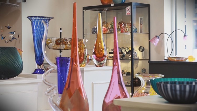 Keepin' It Local: Boise man shares his passion for art glass