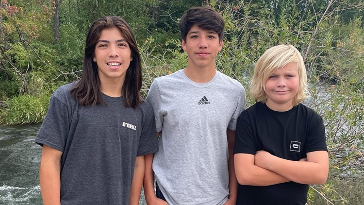 7's HERO: Kuna High School student rescues boy after his foot became tangled in a rope in the water
