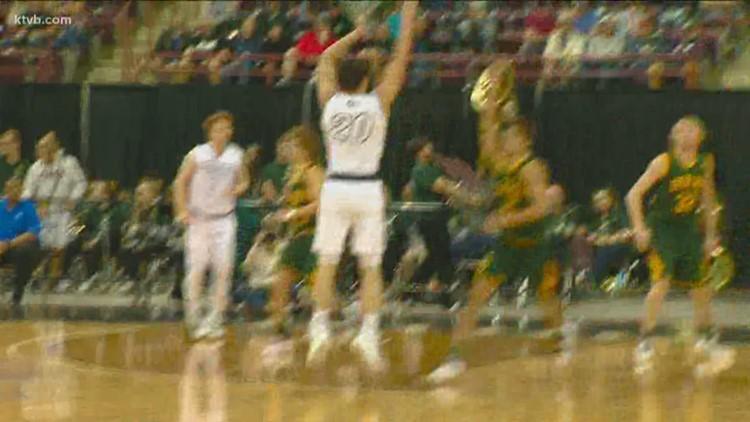 5A Boys State Basketball Semifinals: Eagle Mustangs vs. Borah Lions