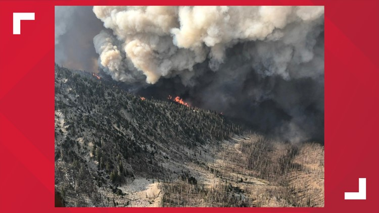 Idaho wildfires: Boundary Fire in Frank Church Wilderness scorches more than 100 square miles