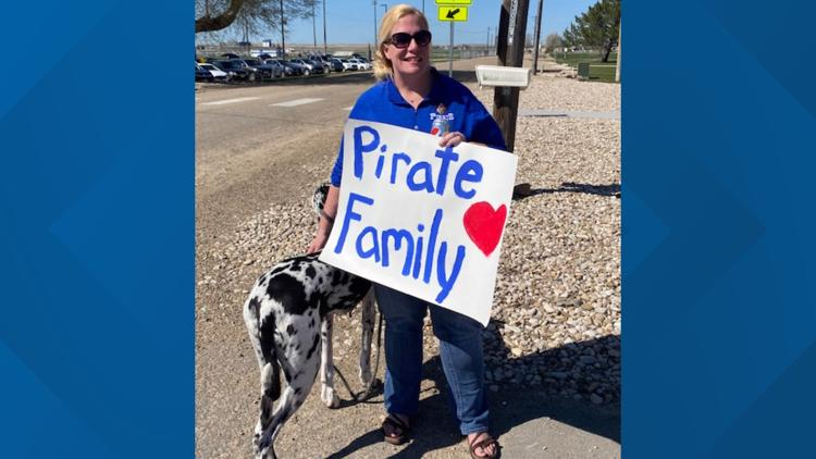 Innovative Educator: Notus principal sets steady course for her young Pirates