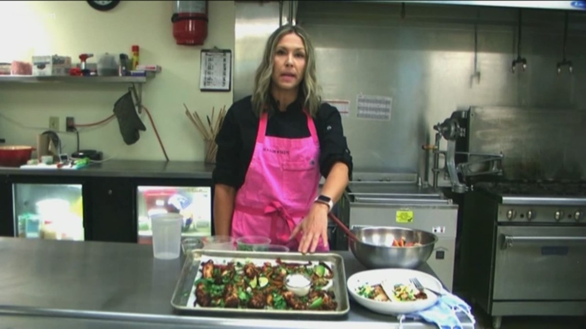 KTVB Kitchen: How to cook cheap and healthy sheet pan chicken fajitas