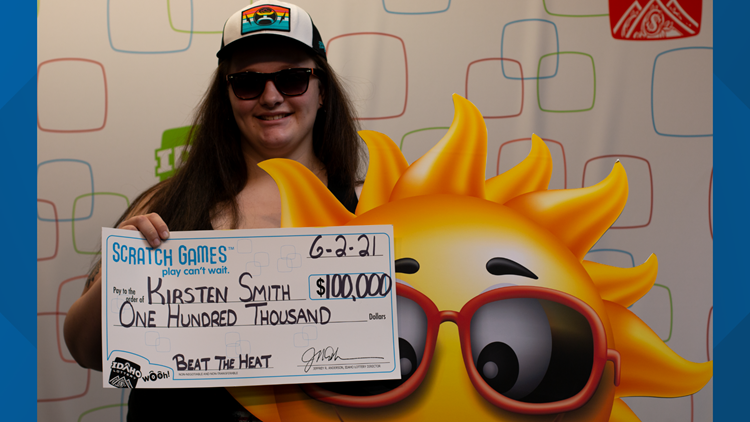 Twin Falls woman wins $100,000 in Idaho Lottery scratch game