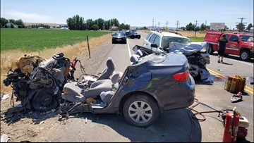 Two people from Weiser die in head-on crash on US-95