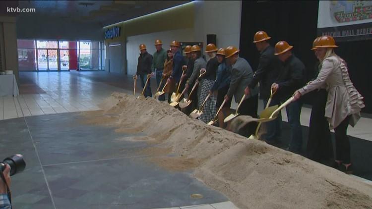 Ground broken on Karcher Mall redevelopment project