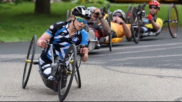 Women's handcycling team helps those with physical limitations find confidence and community