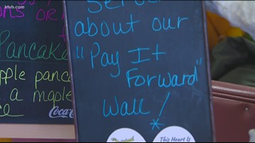 7's Hero: The Original Sunrise Cafe starts a pay it forward campaign to help give back to customers