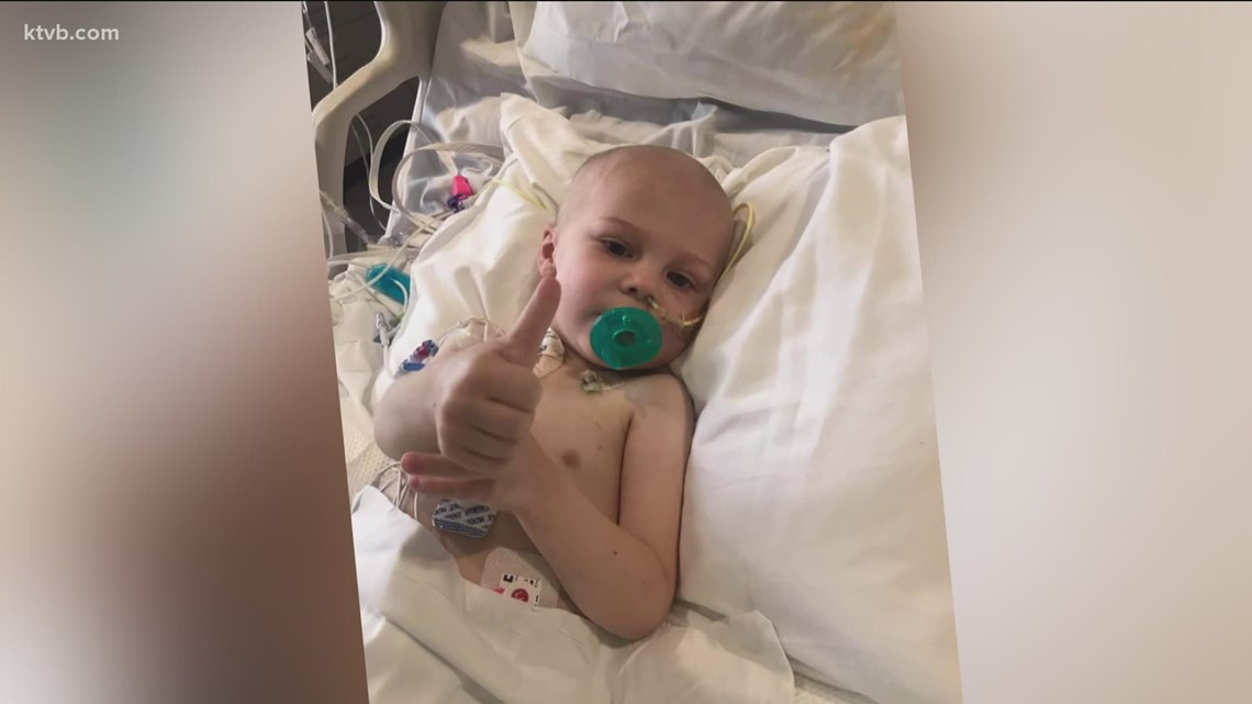 7's HERO: 3-year-old Boise boy battling cancer receives birthday cards from community