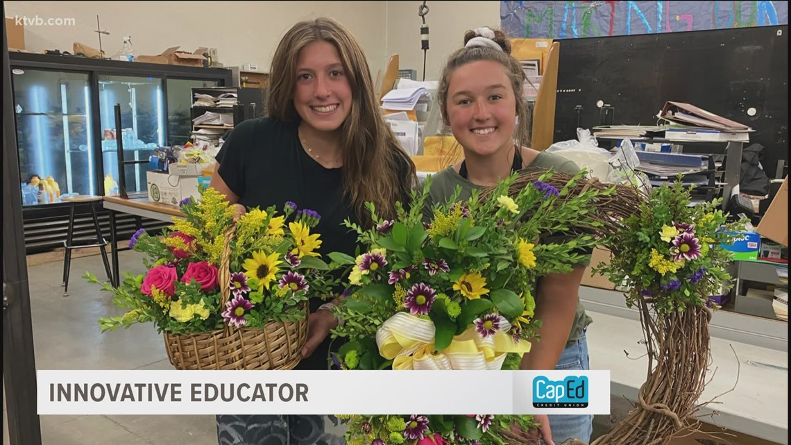 Innovative Educator: Filer teacher helps students explore floral design