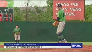 5A state baseball championship: Mountain View vs. Capital 5/18/2019