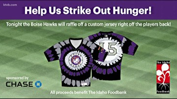 Boise Hawks are helping 'Stamp Out Hunger' with special edition jerseys