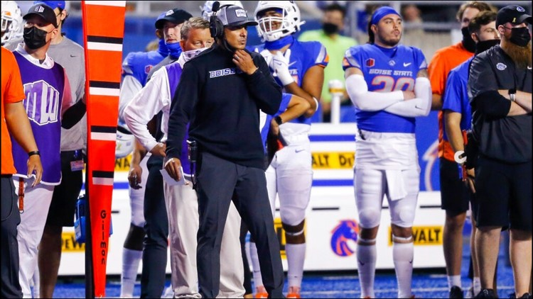 How Andy Avalos and the Boise State Broncos are getting ready to play Utah State