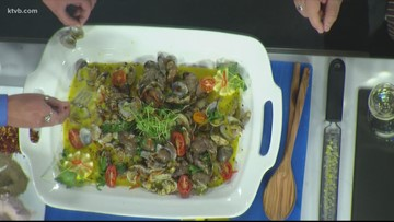 KTVB Kitchen: How to make clams with vegetables