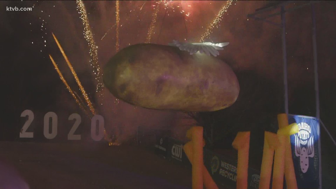 Idaho Potato Drop rings in 2021 with virtual celebration