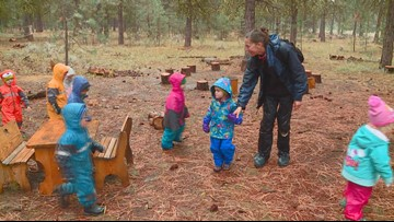 Roots Forest School gets kids learning in the outdoors